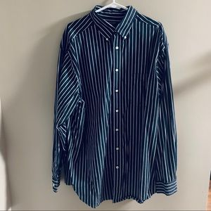 Roundtree & Yorke Button Down Long Sleeve 2XT